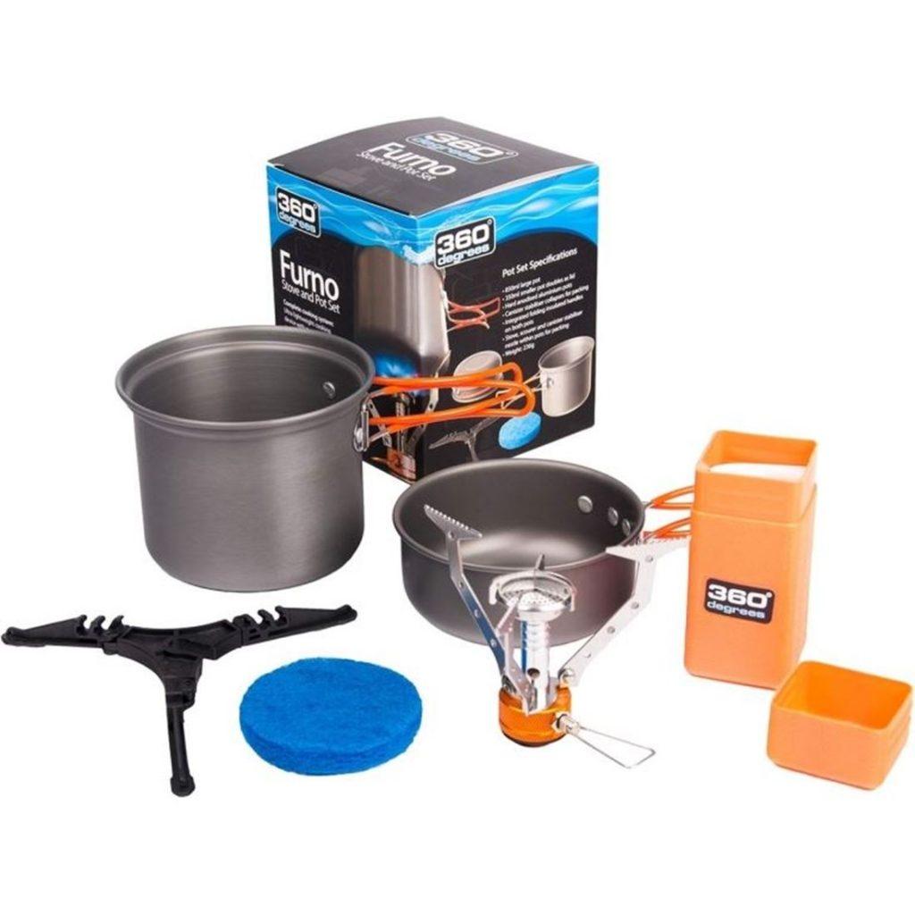 360 Furno Stove and Pot set