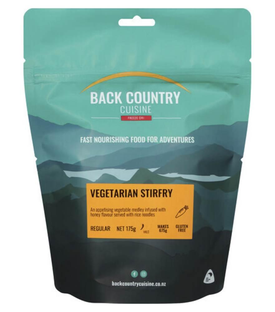 Back Country Vegetarian Stirfry Regular Serve
